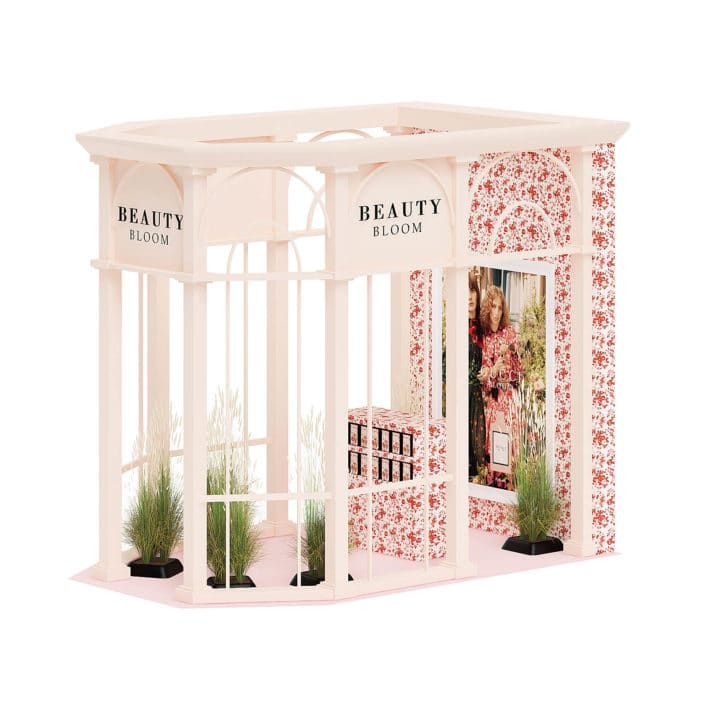 Beauty Stall 3D Model