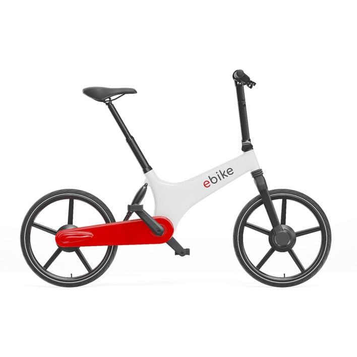 Electric Bike 3D Model