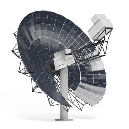 Solar Dish 3D Model