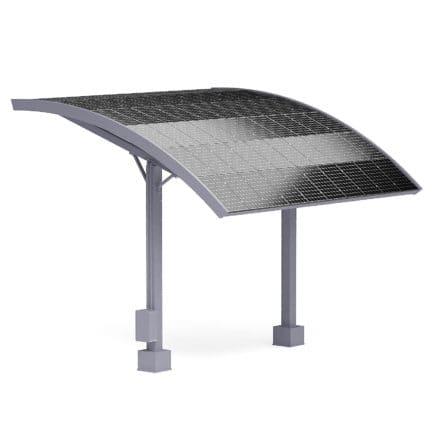 Solar Parking Shade 3D Model