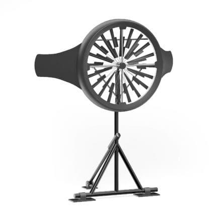 Small Wind Turbine 3D Model