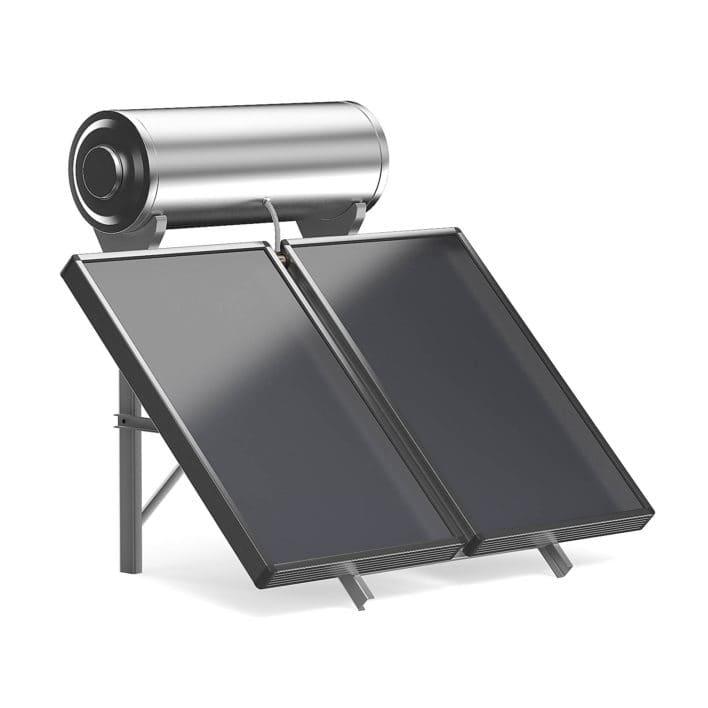 Solar Heating Panel 3D Model
