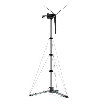 Small Wind Turbine 3D Model
