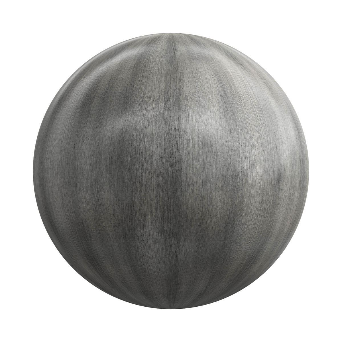Black Fine Wood PBR Texture