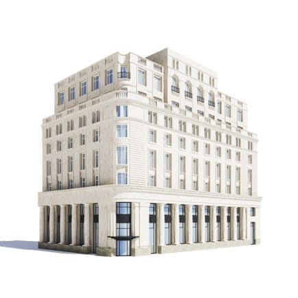 Tenement House 3D Model