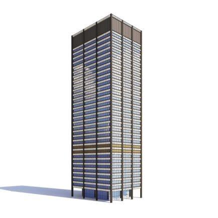 Skyscraper 3D Model