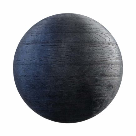 Black Painted Wood