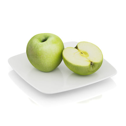 Halved apple 3D Model